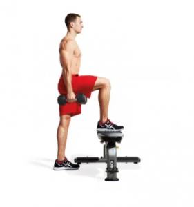 DUMBBELL STEPUP