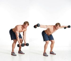 REAR DUMBBELL FLYE